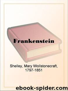 Frankenstein by Shelley Mary Wollstonecraft